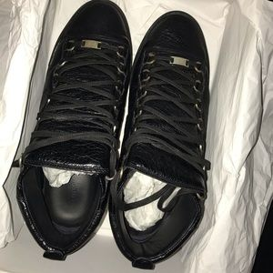 Balenciaga High Top Black Arenas